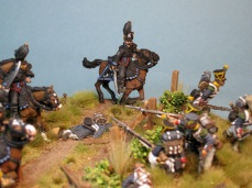Charge of the Brunswick Hussars